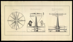 Plan and Section of Jesse Ramsden's 'Great Theodolite', from
